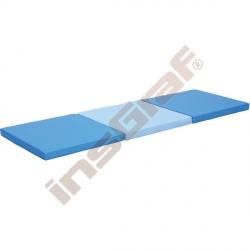 Trojdílná žíněnka modrá - rehabilitační tvary