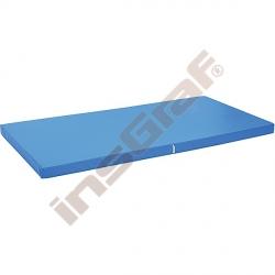 Protiskluzová žíněnka rozm. 183 x 90 x 8 cm modrá