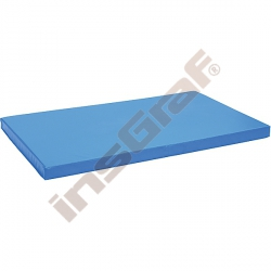 Protiskluzová žíněnka rozm. 150 x 90 x 8 cm modrá