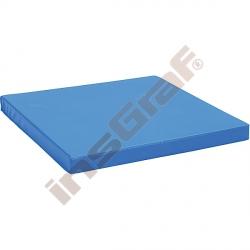 Protiskluzová žíněnka rozm. 90 x 90 x 8 cm modrá