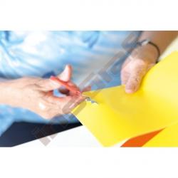 Lesklé barevné papíry pro vystřihování 100 ks A3