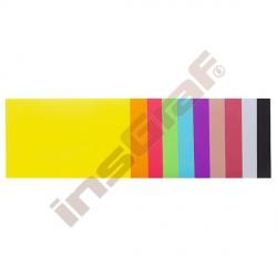 Lesklé barevné papíry pro vystřihování 10 ks A5