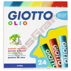 Olejové pastely 24 odstínů