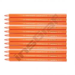 Pastelky Color Giants 12 ks oranžové