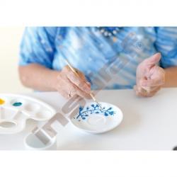 Barva na keramiku za studena - modrá