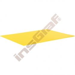 Hladký kartón 50 x 70 cm - žlutý