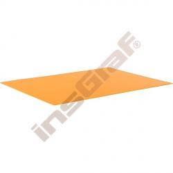 Hladký kartón 50 x 70 cm - oranžový