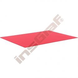 Hladký kartón 50 x 70 cm - červený