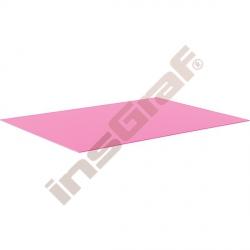 Hladký kartón 50 x 70 cm - růžový