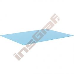 Hladký kartón 50 x 70 cm - modrý