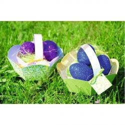 Kartónové velikonoční košíčky