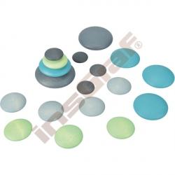 Kameny k manuálním cvičením - pastelové