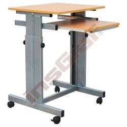 Počítačový stůl TINA I s regulací výšky