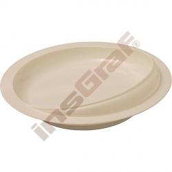 Hluboký talíř se širokým okrajem