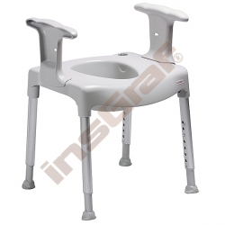 Volněstojící nadstavba na WC - Swift Commode