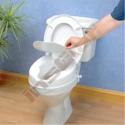 Nástavec na WC, s víkem, výška 10 cm