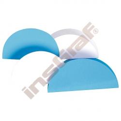 Kolečka na origami 20 modrá