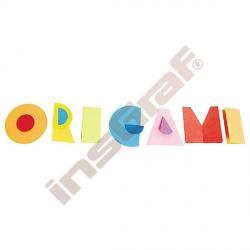 Kolečka na origami 57 bílá
