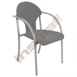 Židle Visa alu šedá