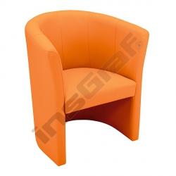 Křeslo Club oranžové