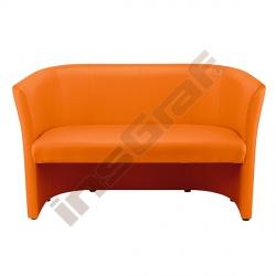 Pohovka Club duo oranžová
