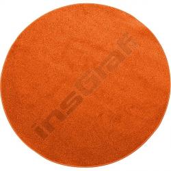 Kulatý koberec prům. 100 cm - terakota