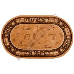 Kobereček Pikolo oválný zlatý 0,6 x 1 m