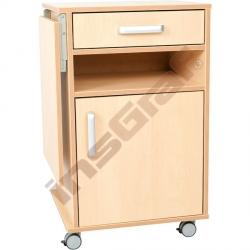 Noční stolek Flexi s rozkládací deskou