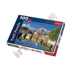 Puzzle 500 Vatikán, Řím, Itálie