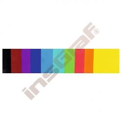 Lesklé barevné papíry pro vystřihování 200 ks A4