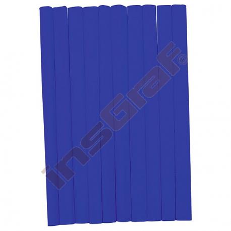 Krepový papír modrý 10 ks