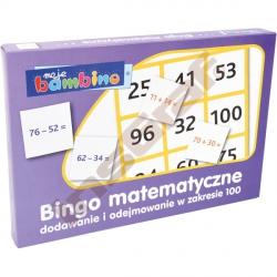 Bingo sčítání a odečítání do 100