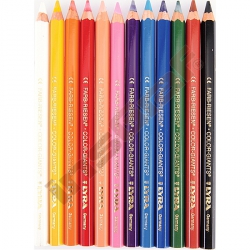 Pastelky Color Giants 12 ks