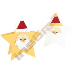 Reliéfní papír vzor vánoční přání