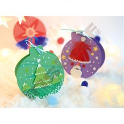 Kartonové vánoční přání