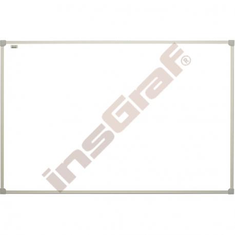 Bílá magnetická tabule závěsná velká