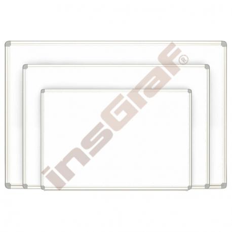 Bílá magnetická tabule závěsná malá