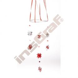 Pásky pro výrobu hvězdiček - stříbrné