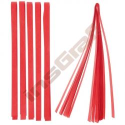 Pásky pro výrobu hvězdiček - červené