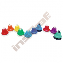 10 barevných zvonečků