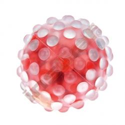 Senzorické míčky s kuličkami, 3 ks