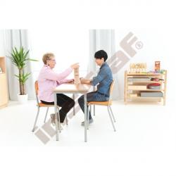 Regál Flexi na rehabilitační pomůcky