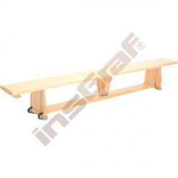 Gymnastická lavička s kolečky