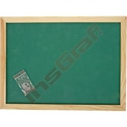 Korková tabule 100 x 150 cm - zelená