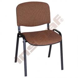 Konferenční židle ISO Black hnědá