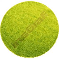 Kulatý koberec prům. 100 cm - zelený