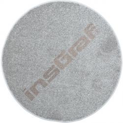Kulatý koberec prům. 100 cm - šedý