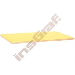 Stolová deska Flexi obdélníková - žlutá