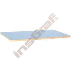Stolová deska Flexi obdélníková - modrá